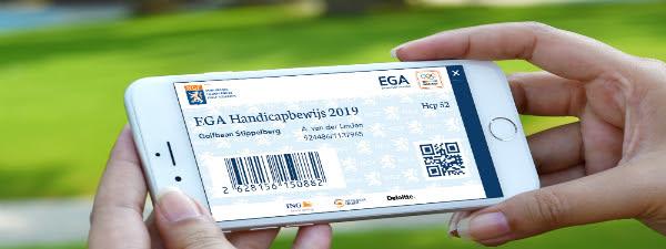 Golfpas 2020 Ligt Klaar Voor U.